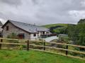 Berwyn Barns from the river bank